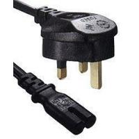 Buy cheap PC136 - IEC320 C7 to UK Plug Mains Lead, 2 Metre product