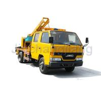 Buy cheap Highway collision repair Highway Guardrail Post Pounder Truck product