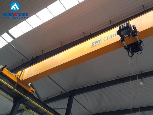 Overhead Crane Girder Deflection : Euro style overhead crane kone single girder