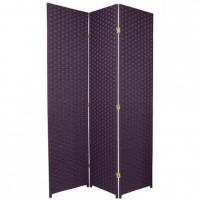 China 6 ft. Tall Woven Fiber Room Divider - Special Edition on sale