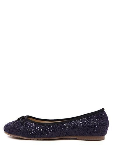 Quality Attractive Shiny Round Toe Flats in Bowknot for sale