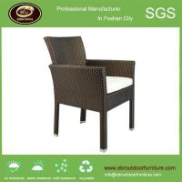 PE magic classic wicker arm chair for coffee shop and hotel