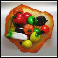 Glass Fruit and Vegetables