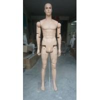 Buy cheap cheaper flesh skin color male movable joint male mannequin from wholesalers
