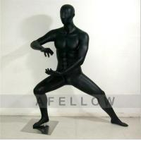 Buy cheap Kung fu 3 Male men display model black color Kung Fu Chinese traditional style mannequin from wholesalers