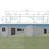 Buy cheap Container Houses Sandwich Panel 20ft Flat Pack Modified Shipping Container Homes Manufacturer product