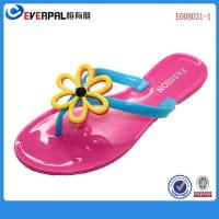 Buy cheap Funky Flower post pvc jelly sandals shoes product