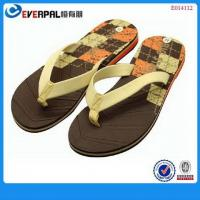 Buy cheap Promotional Flip Flops Eva Sole Slippers product