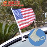 China CUSTOM FLAGS & BANNERS USA Car Flag wholesale