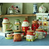 Buy cheap novelty Christmas gifts mug,ceramic mug for Christmas day,500ml ceramic cup with lid---MM005 product