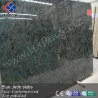 Buy cheap Blue jade stone, polished slabs product