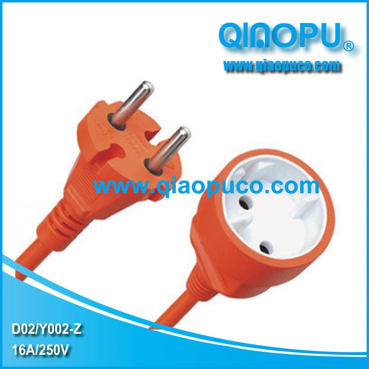 China German VDE power cord&plug D02/Y002-Z on sale