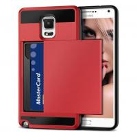 Buy cheap Vofolen(TM) Samsung Galaxy Note 4 Card Slot Case(Red) product