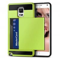 Buy cheap Vofolen(TM) Samsung Galaxy Note 4 Card Slot Case(Yellow Green) product