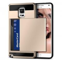 Buy cheap Vofolen(TM) Samsung Galaxy Note 4 Card Slot Case(Gold) product
