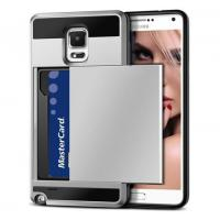 Buy cheap Vofolen(TM) Samsung Galaxy Note 4 Card Slot Case(Silver) product