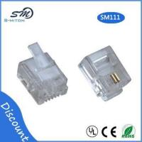 Buy cheap RJ11 modular plug 6 pin 2 core telephone cable connector product