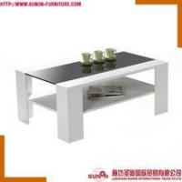 Buy cheap CT-F1407 design wood and glass coffee table product