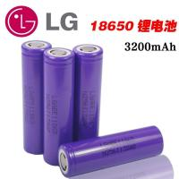 China Alkaline battery Rechargeable Flat Top LG 3200mAh Li-ion Battery Cell ICR18650E1 on sale