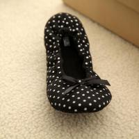 Buy cheap printed percale bowknot dance shoes(KL-D-088) product