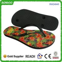 Buy cheap fashion customized rubber flip flop product