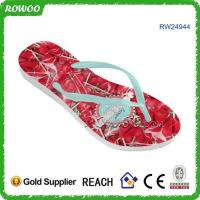 Buy cheap Custom rubber flip flop brand name shoes product