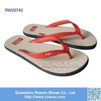 Buy cheap customized printed rubber beach slipper product