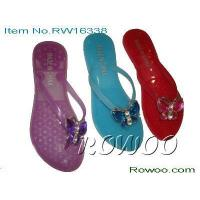 Buy cheap mens leather slippers RW16338 from wholesalers