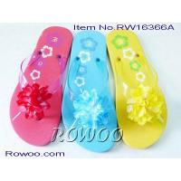 Buy cheap ladies moccasin slippers RW16366A from wholesalers