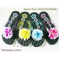 Buy cheap Womens Flower Slippers RW16366B from wholesalers