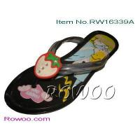 Buy cheap kids sheepskin slippers RW16339A from wholesalers