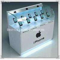 Buy cheap Cell phone showcase glass display cabinet product