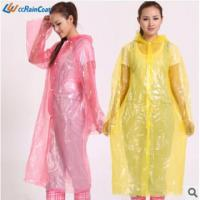 Buy cheap Promotional fashionable emergency pe raincoat for adult popular in Europe product
