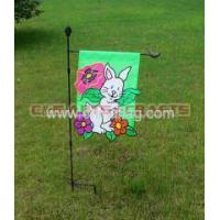 Buy cheap custom rabbit garden flag from wholesalers