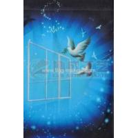 Buy cheap peace pigeon garden flag from wholesalers