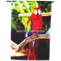 Buy cheap Custom red bird garden flag from wholesalers