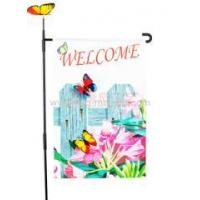 Buy cheap Custom batterfly garden flag from wholesalers