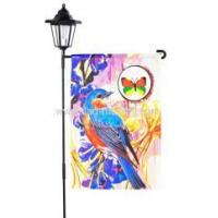 Buy cheap Personalized Garden Flags Custom Spring bird garden flag from wholesalers