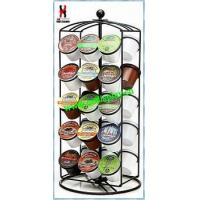 Buy cheap Revoling K-Cup Coffee Carousel Rack Powder Coated product