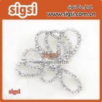 Buy cheap Wholesale Crystal Glass Rhinestone Wedding Bridal Dress Buckle product