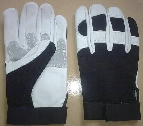 Quality Goatskin Leather Gloves / Motorcycle Glove / Auto Gloves for sale