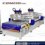 6 Spindles CNC Router for Shaft