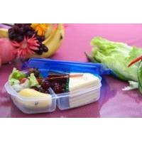 Buy cheap Plastic lunch box 3 compartments product