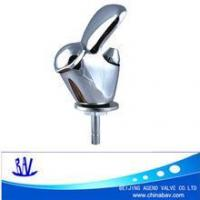 Round cap straight drinking faucet for drinking fountain faucet