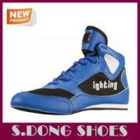 Buy cheap 2016 New model high top fashion custom boxing shoes men from wholesalers