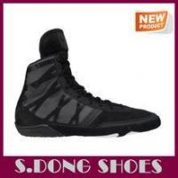 Buy cheap Latest new design men chinese wrestling shoes for sale from wholesalers