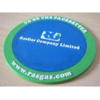 P013 Wholesale promotional logo printing drink placemats and coasters