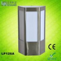 Buy cheap New design E27 socket IP44 waterproof modern stainless steel garden outdoor wall light product