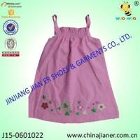 Buy cheap new arrival cheap sleeveless wholesale baby dress modern product