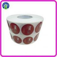 China High Quality adhesive cheap labels white transparent vinyl logo sticker prinnting wholesale